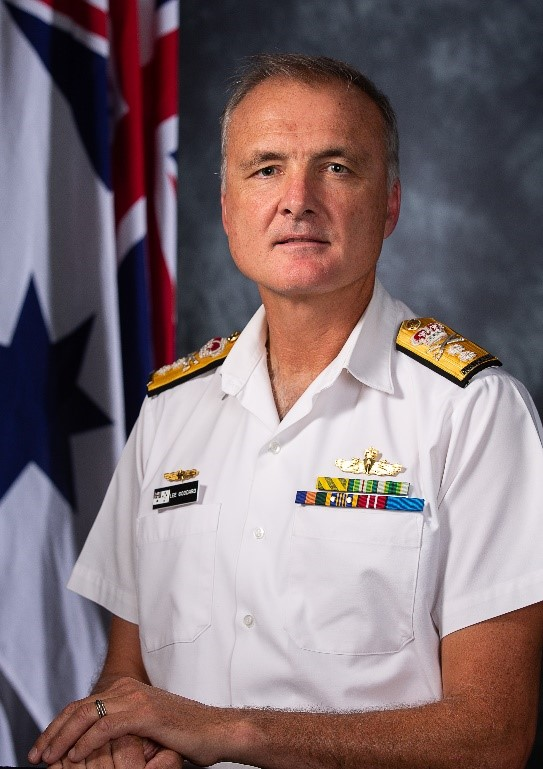 Rear Admiral Lee Goddard, CSC, RAN (Chair)