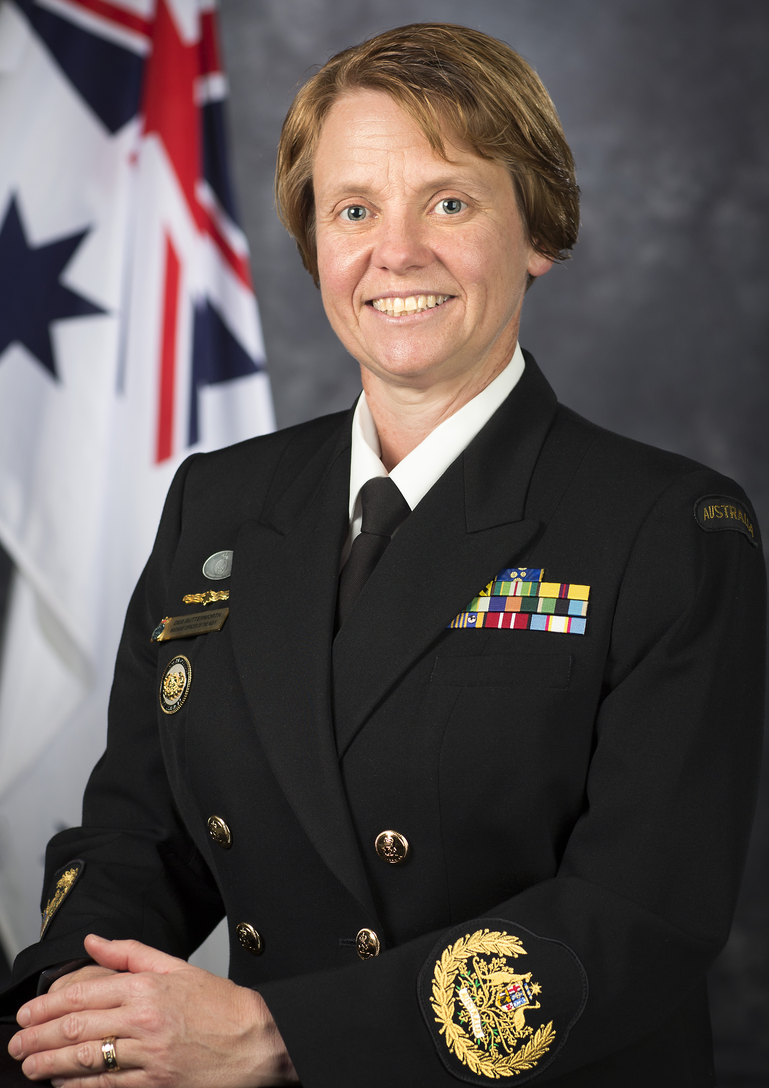 Warrant Officer of the Navy, Deb Butterworth, OAM, CSM and Bar